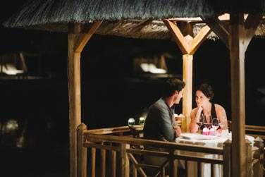 Restaurant The Cove... pour un dîner aux chandelles en amoureux