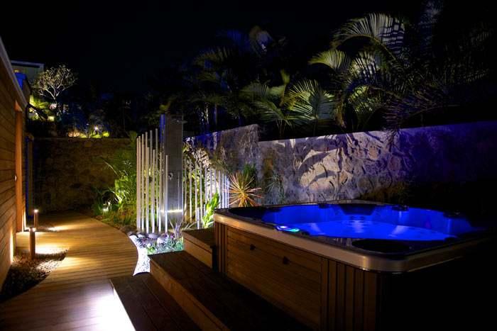 suite créole en villa avec spa