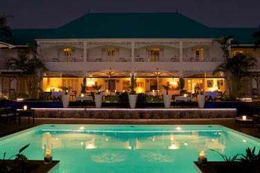 La grande maison créole abrite 12 chambres standard, pleines de charme