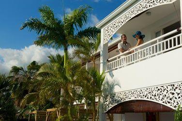 L'architecture reflète l'esprit créole