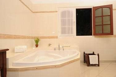 Salle de bain de la chambre Luxe