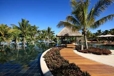 L'hôte possède plusieurs piscines où il fait bon se détendre...