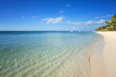 Un endroit idyllique où il fait bon se promener les pieds dans l'eau et admirer l'horizon, l'océan à perte de vue