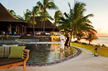 L'hôtel jouit d'une situation exceptionnelle pour admirer les couchers de soleil