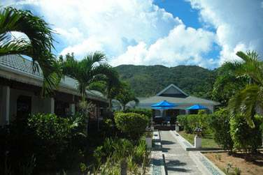 Un ravissant jardin tropical, avec vue imprenable sur la mer