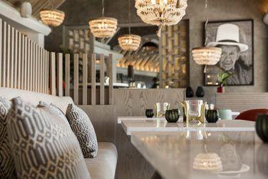 Atmosphère élégante au restaurant Inti