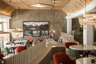 Décoration et intérieur du restaurant Inti