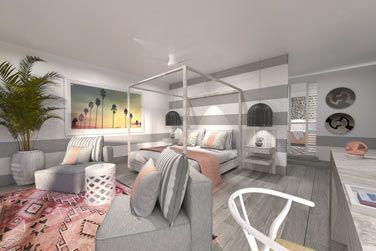 La Chambre Deluxe, lumineuse, calme et confortable...