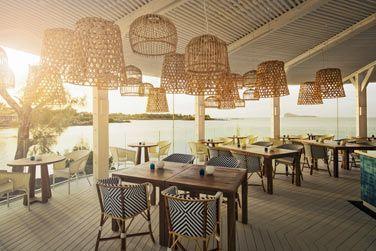 Le restaurant Bodrum Blue