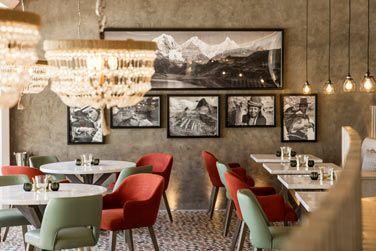 Un salon résolument intime dans le restaurant Inti