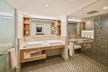 La salle de bain de la chambre Supérieure
