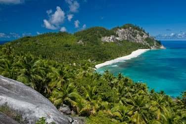 La petite île privée de North Island se situe à 42 km au nord de Mahé aux Seychelles