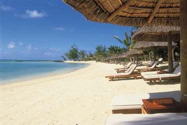 La longue plage est l'un des nombreux atouts de cet hôtel !