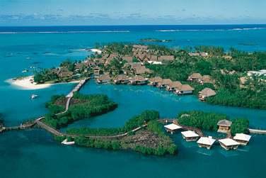 Bienvenue à l'hôtel Constance Le Prince Maurice, sur une péninsule privée...