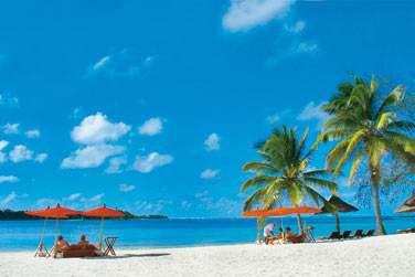 Transats, parasols, service de plage, tout y est !