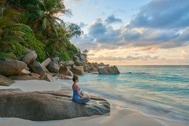 L'environnement est propice à la relaxation...