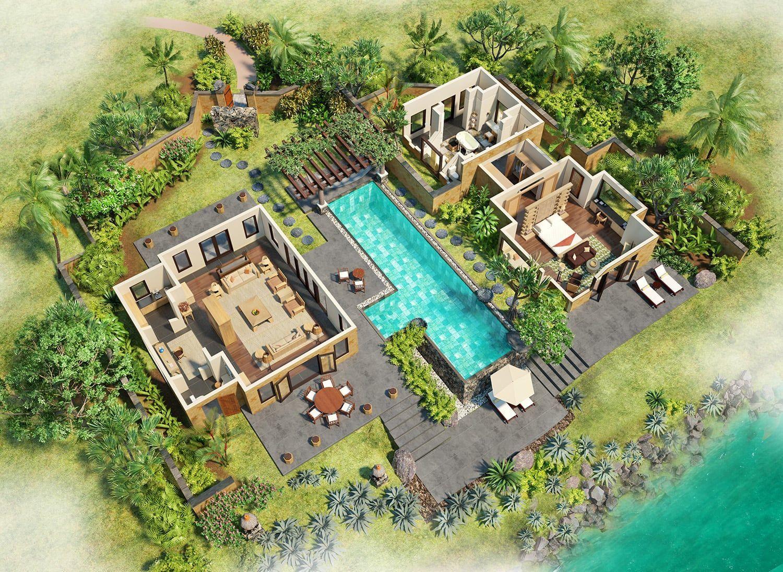 Hôtel The Oberoi Mauritius, Ile Maurice