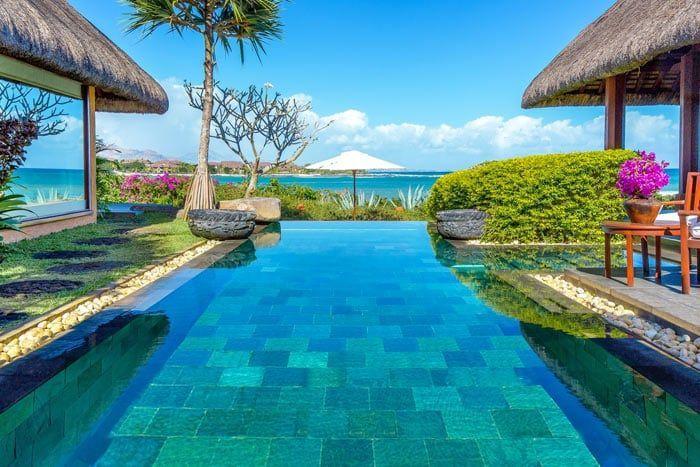 villa royale avec piscine