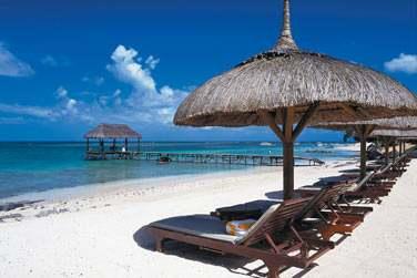 C'est le parfait exemple du raffinement de l'hôtel de luxe à l'île Maurice.