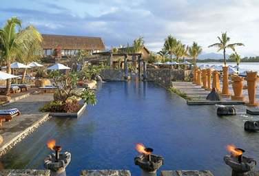 L'Oberoi est un hôtel exceptionnel.La piscine..