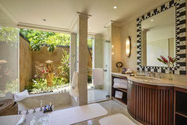 La salle de bain des Villas