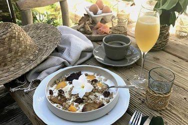 Tous les matins un petit-déjeuner complet vous est servi