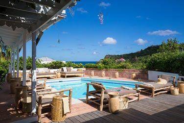 La piscine de l'hôtel Tropical