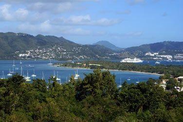 Situé sur les hauteurs de Sainte-Anne, dans le Sud de la Martinique