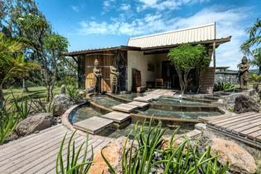 Le spa est très zen et très joliement décoré ...