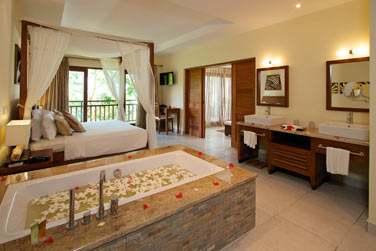 La chambre de la villa Piscine