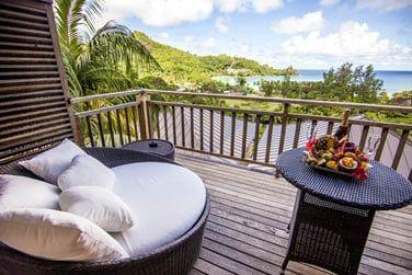 La terrasse avec vue mer