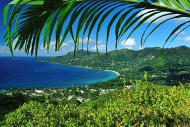 Situé au sud-ouest de Mahé, l'île principale des Seychelles, à Baie Lazare