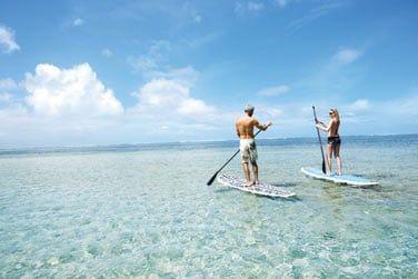 Vous pourrez y pratiquer de nombreuses activités et notamment le stand-up paddle