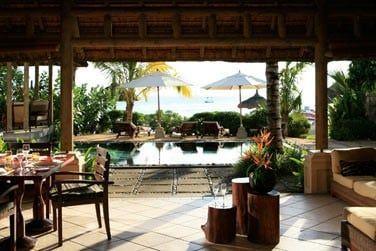 Villa, vue sur la piscine privée