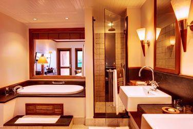 Salle de bain de la Chambre Deluxe