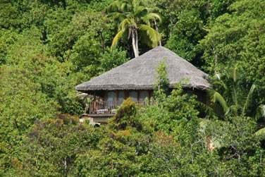 La villa Hideway vue mer