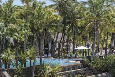 Entourée d'une superbe palmeraie