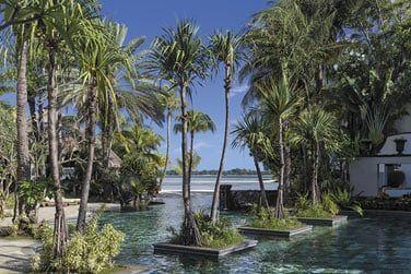 La piscine Frangipani