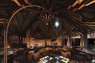 Safran Restaurant qui propose des plats traditionnels indiens