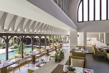 Le restaurant Le Bazar