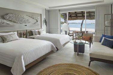 Chambre Deluxe accès plage avec lits jumeaux