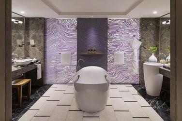 Salle de bain des Suite Junior