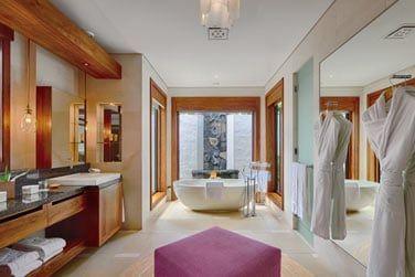 Salle de bain de la Villa Plage