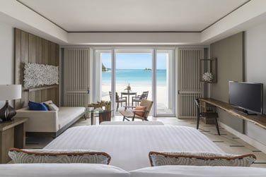 Accédez directement à la plage depuis votre chambre