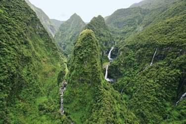 Les superbes Cascades de la Réunion