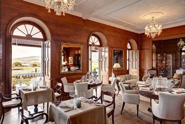 Le restaurant du Domaine de bel Ombre