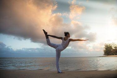 Evasion lors d'un cours de yoga