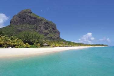 Bienvenue à l'hôtel Dinarobin sur la côte sud-ouest de l'île Maurice