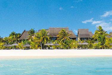 Sable blanc, mer turquoise, soleil de l'île Maurice... Un cadre idyllique !