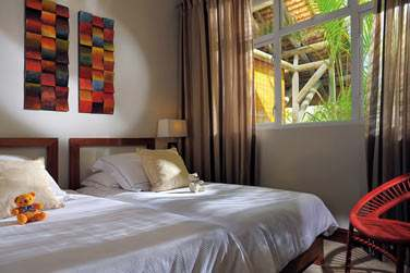 Autre chambre de la Villa, tout aussi élégante et raffinée